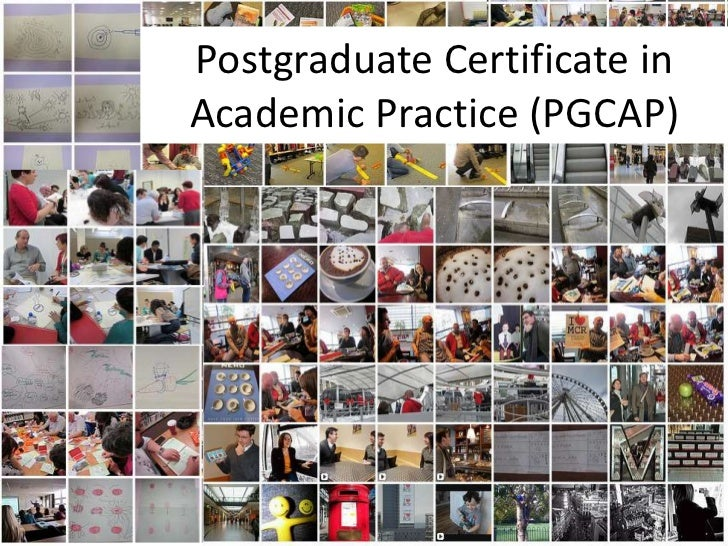 Postgraduate Certificate inAcademic Practice (PGCAP)                          1