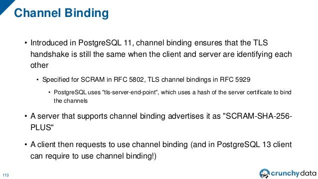 Upgrading to SCRAM