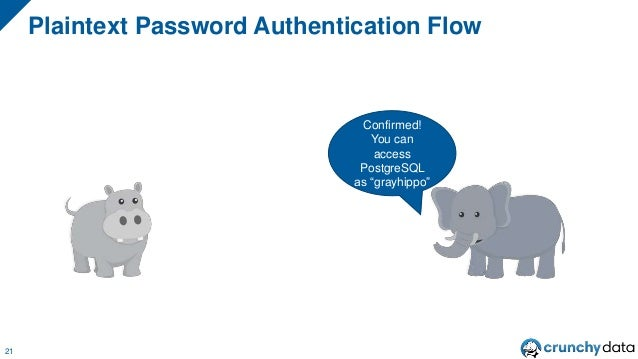 "Plaintext Password Authentication Flow 21 Confirmed! You can access PostgreSQL as ""grayhippo"""