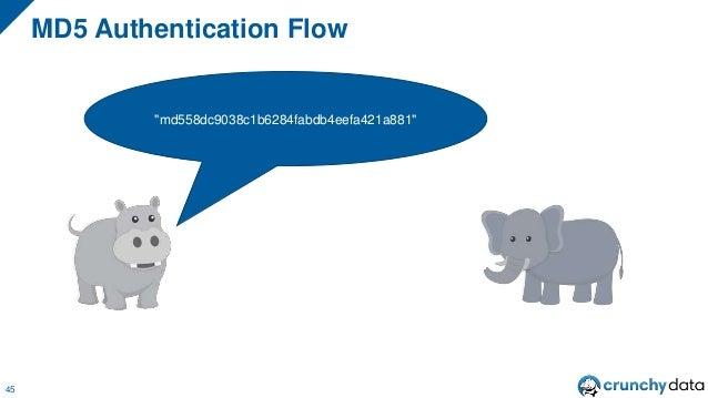 "MD5 Authentication Flow 45 ""md558dc9038c1b6284fabdb4eefa421a881"""