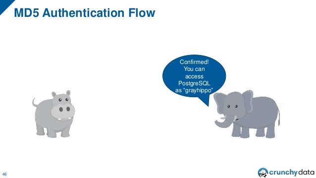 """MD5 Authentication Flow 46 Confirmed! You can access PostgreSQL as """"grayhippo"""""""