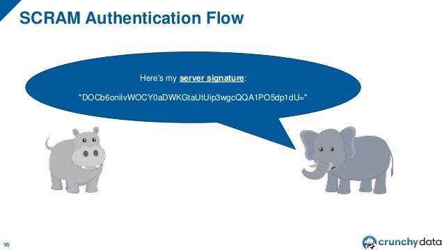 Technically, grayhippo is Authenticated At This Point. But, can grayhippo trust the PostgreSQL server?