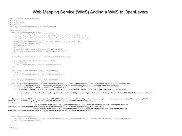 Integrating PostGIS in Web Applications