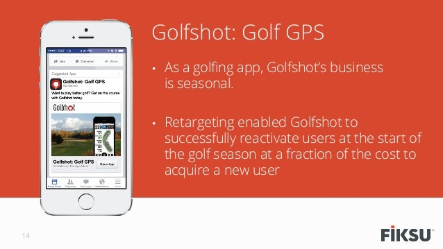 • As a golfing app, Golfshot's business is seasonal.  • Retargeting enabled Golfshot to successfully reactivate users at...