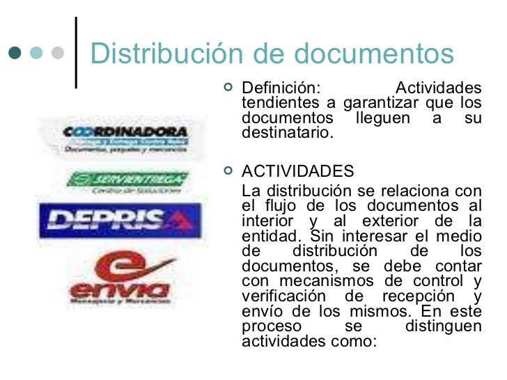 Programa de gesti n documental for Significado de oficina
