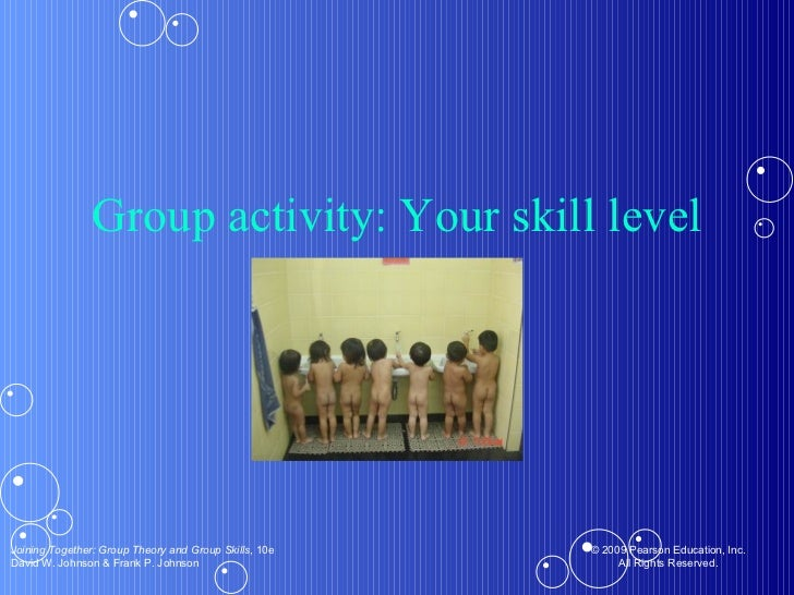 Group activity: Your skill level