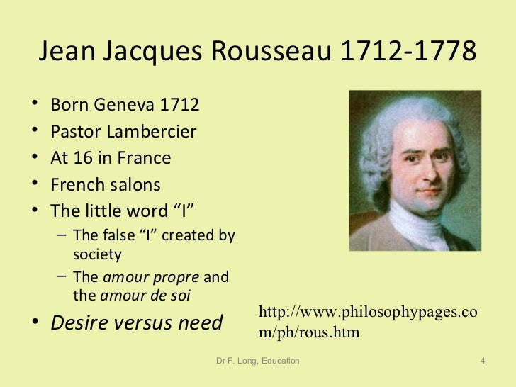 the life and contributions of jean jacques rousseau While other thinkers made important contributions to this or that movement we are all the authors of our life-stories jean-jacques rousseau.