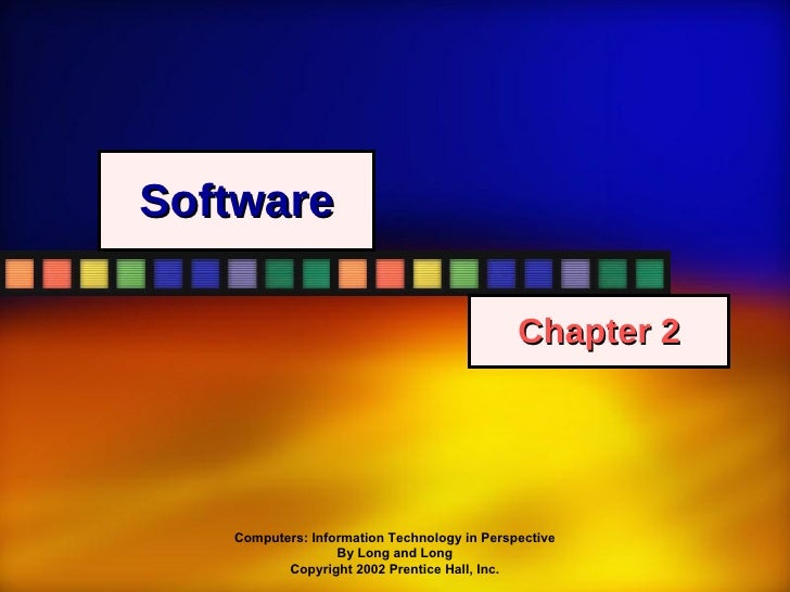 Software Chapter 2
