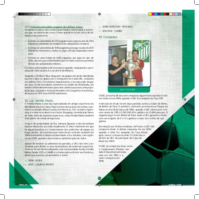 Plano de Marketing e Comunição ESAMC - Uberlândia Esporte Clube 0a3538f12fcf7