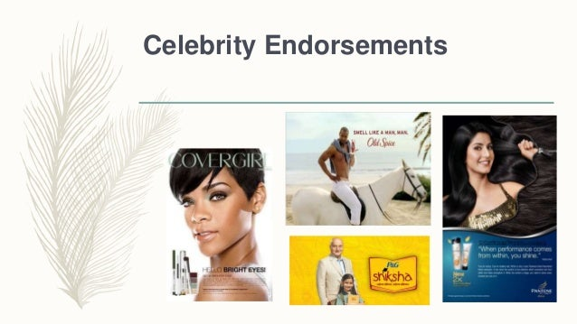 How much does celebrity endorsements cost