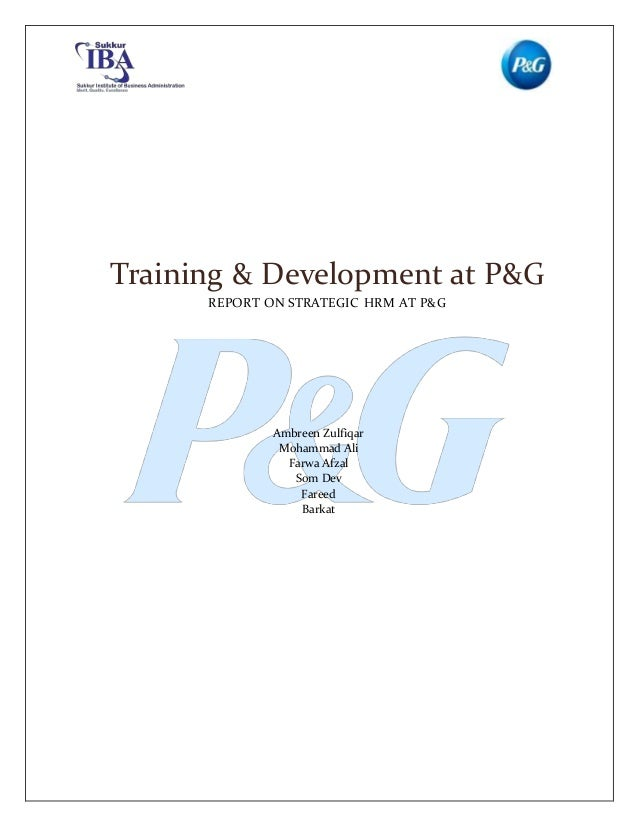 procter and gamble leadership style