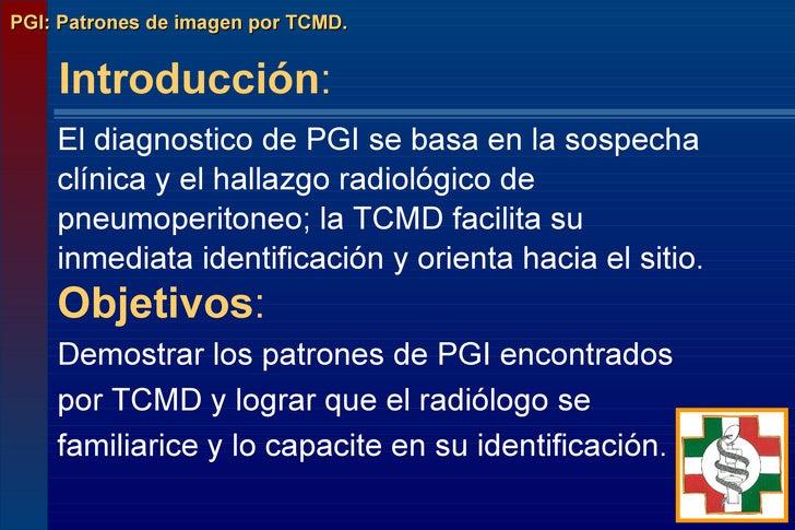 PGI: Perforacion gastrointestinal Slide 2