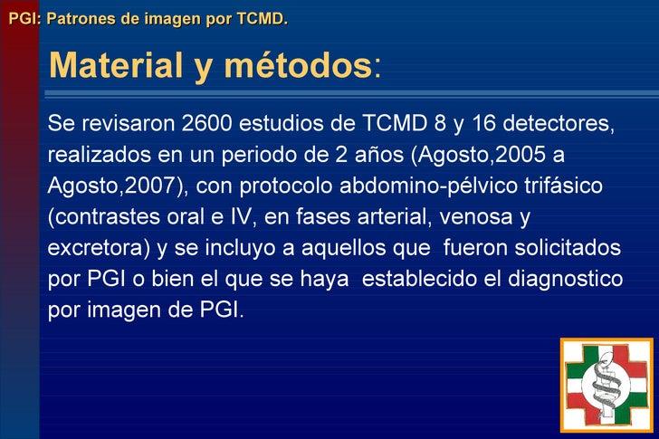 PGI: Perforacion gastrointestinal Slide 3