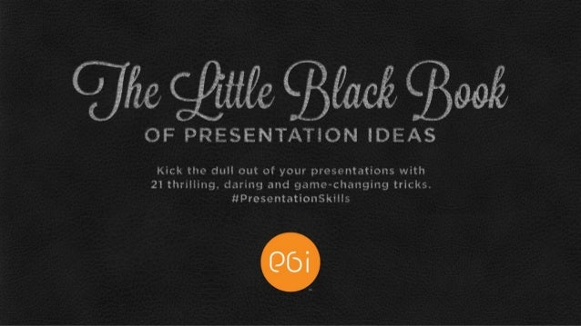 fun presentation ideas
