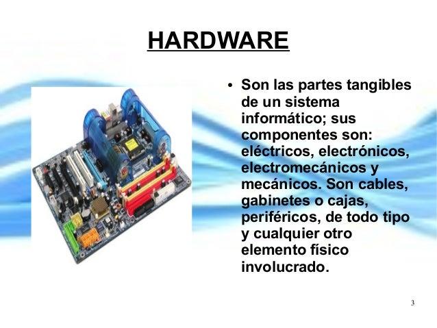 Elementos principales de un sistema inform tico for Elementos de hardware