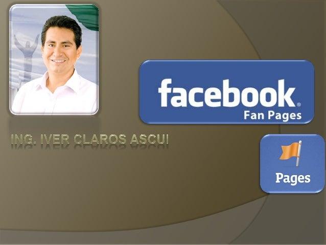Hemos visto que existen los perfiles personales, los grupos y ahora nos queda ver otro elemento de Facebook: las Páginas I...
