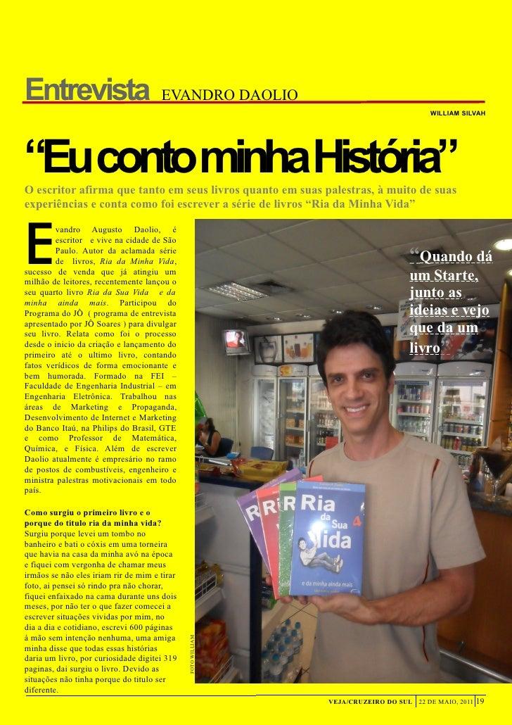 Entrevista                            EVANDRO DAOLIO                                                                      ...
