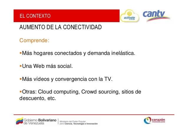 Páginas amarillas cantv actívate en la web-oportunidades de internet para las empresas 2012 Slide 3