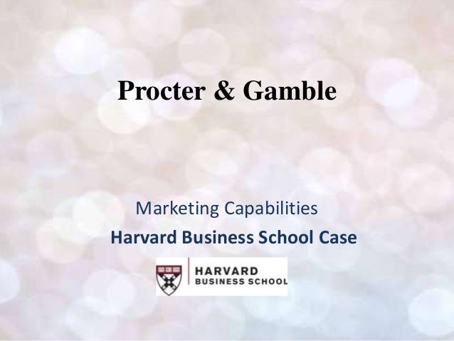 Harvard business study cases