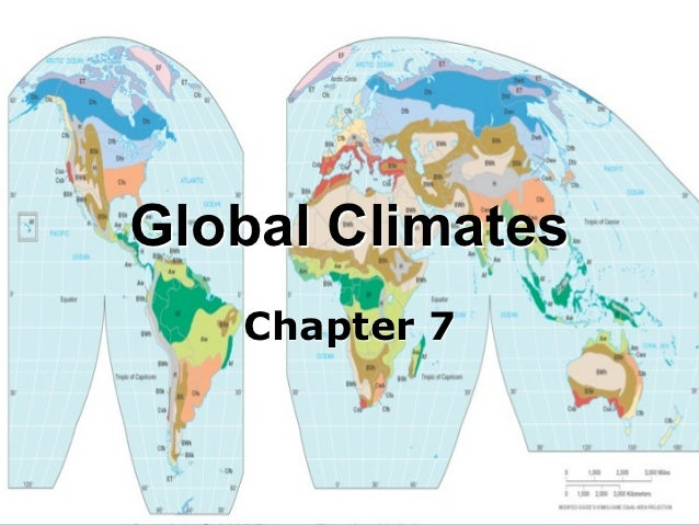 Global Climates   Chapter 7