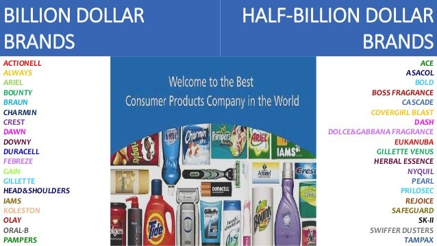 Procter and gamble billion dollar brands casino адрес