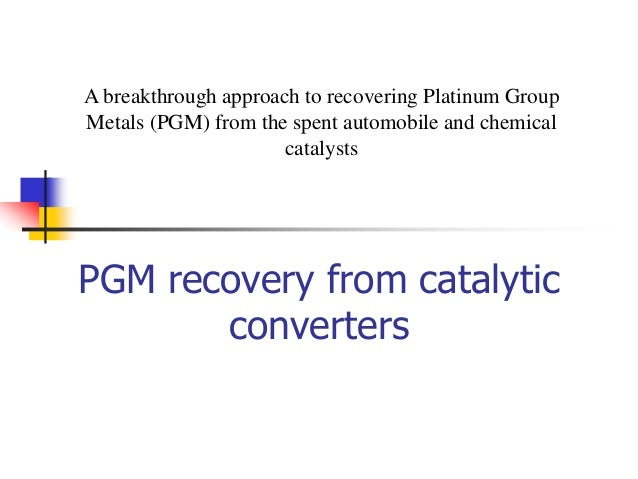 deactivation and regeneration catalytic catalyst sonamvsancheti platinum