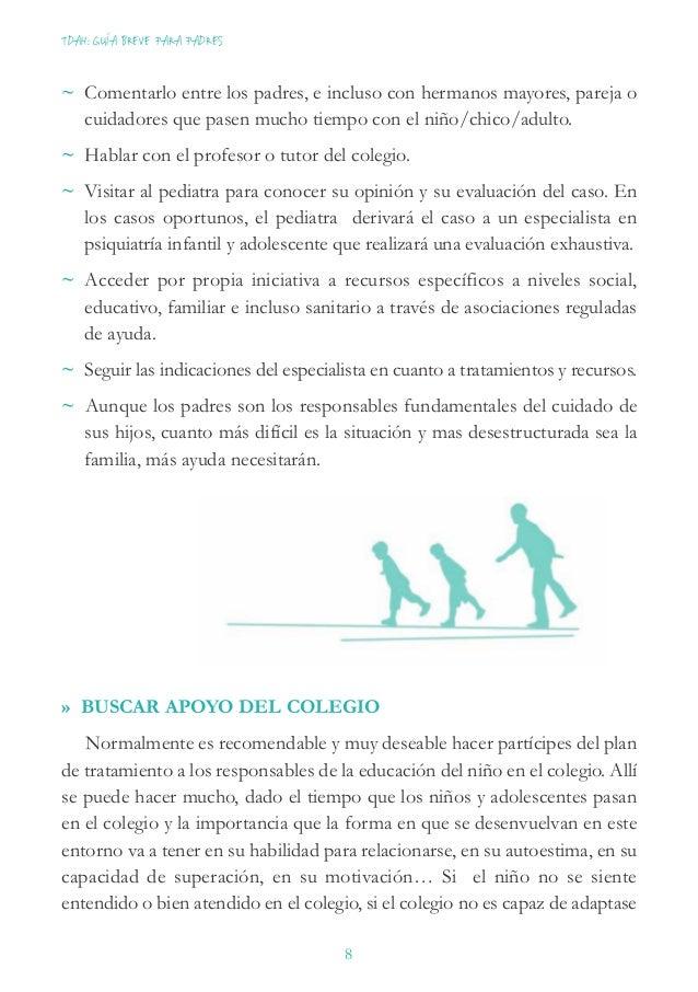 Asociación Elisabeth d'Ornano para el Trastorno de Déficit de Atención e Hiperactividad 9