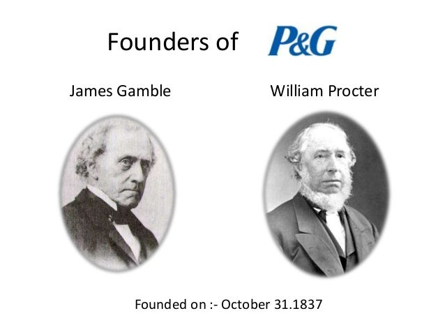 Procter and gamble founder