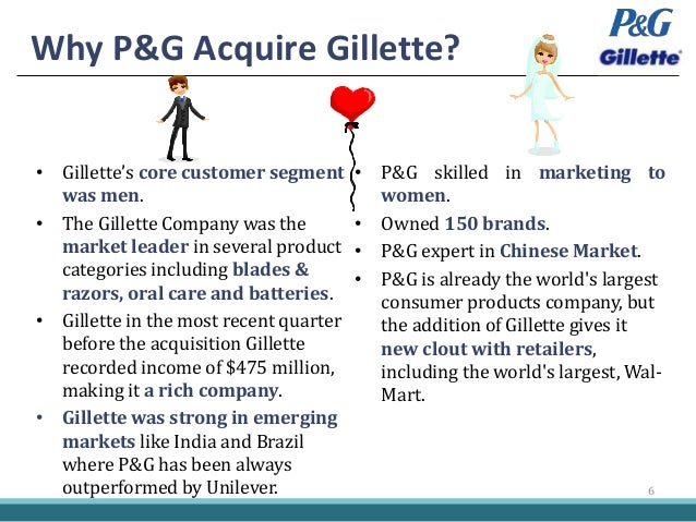 p gs acquisition of gillette Bob mcdonald s quandary save the world or maintain p g s dividend   p g s  acquisition of gillette   p g stock dips on news of major acquisition flat profits.