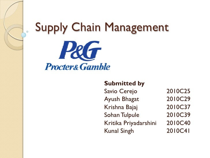 SWOT ANALYSIS of Procter & Gamble Company (P&G)-Consumer Goods Company