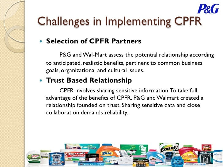 p g and walmart collaboration Wal-mart's relationship with procter & gamble is complicated: here's between wal-mart and p&g began 2 years ago when the on collaboration deal.