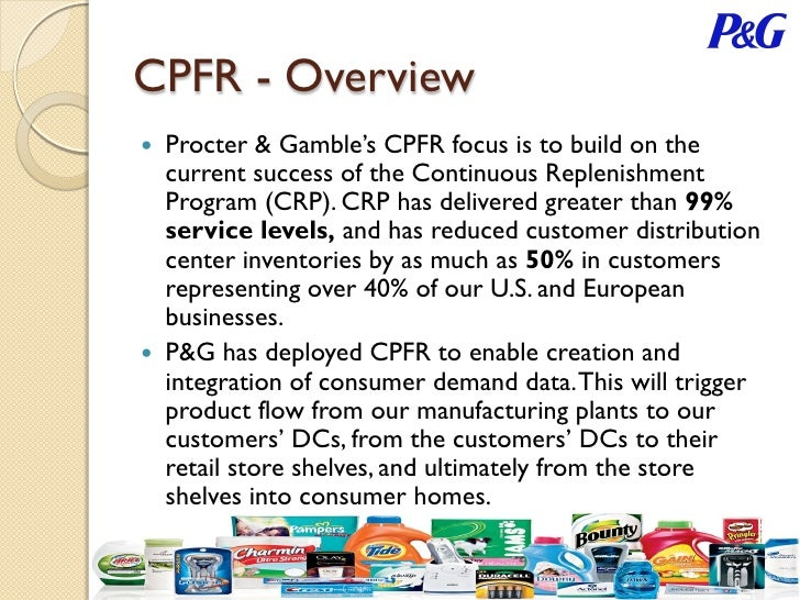 supply-chain partnership between p&g and wal-mart