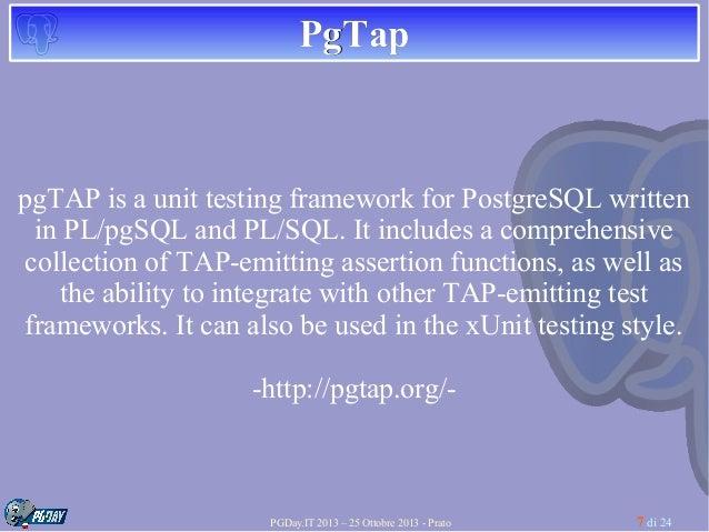 Pg Tap 21