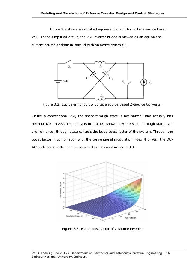 ph.d. thesis modeling and simulation of z source inverter design and…, wiring diagram