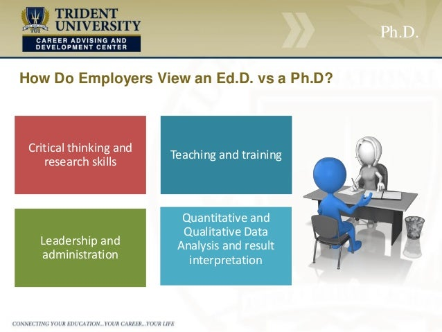 ph d  vs ed d   which degree is right for you