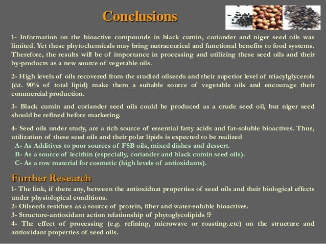 Investigation on Lipid Composition of Exotic Oilseeds
