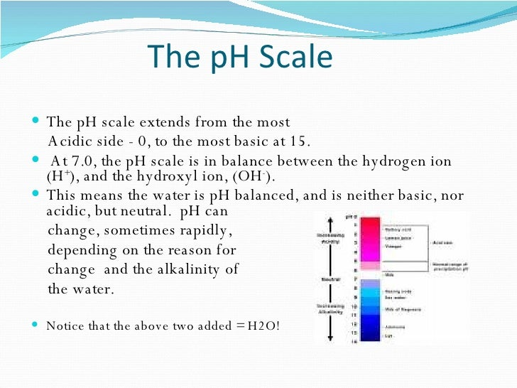 Home Inspector Series Ph In Drinking Water