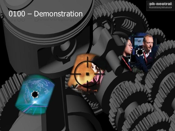 0100 – Demonstration