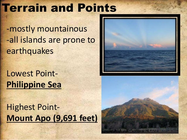 Salient points in philippine history that