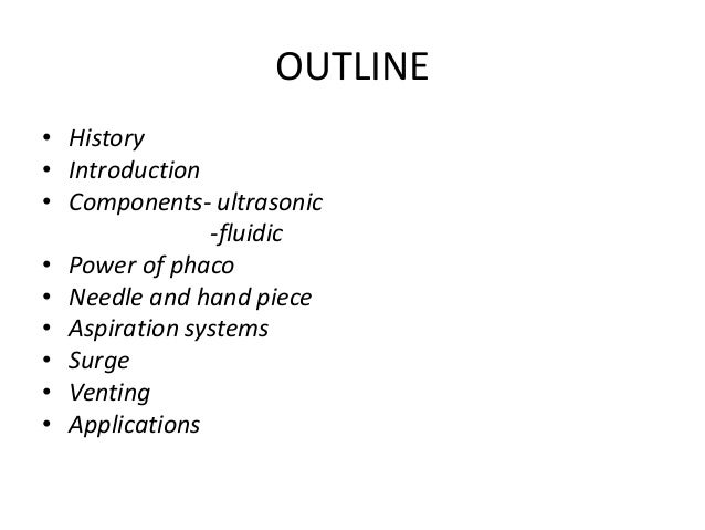 Phacodynamics basics! Slide 2