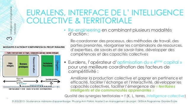 EURALENS, INTERFACE DE L' INTELLIGENCECOLLECTIVE & TERRITORIALE▪ Re-engineering en combinant plusieurs modalitésd'action :...