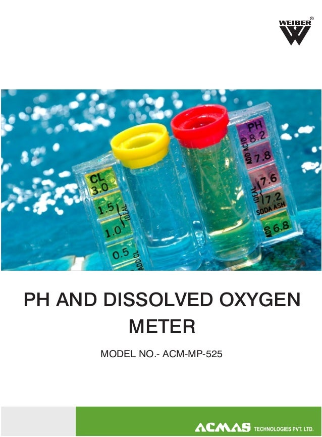 R  PH AND DISSOLVED OXYGEN METER MODEL NO.- ACM-MP-525