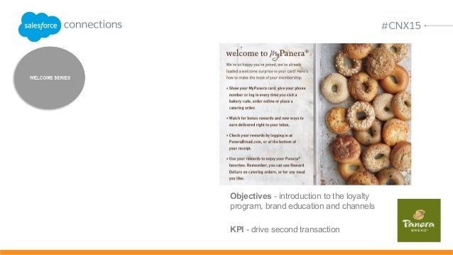 panera bread objectives Jacob worked for paul saber prior to panera bread with mcdonald's  her main  objectives include overseeing sales efforts and growth initiatives to lead.