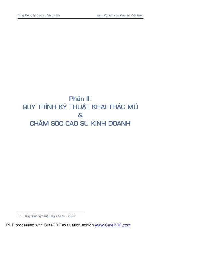 Phan ii quytrinhkythuatkhaithacmuvachamsoc