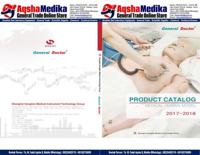 Phantom Alat Peraga Kesehatan General Doctor Product Catalog 2017-2018 - Hal.01