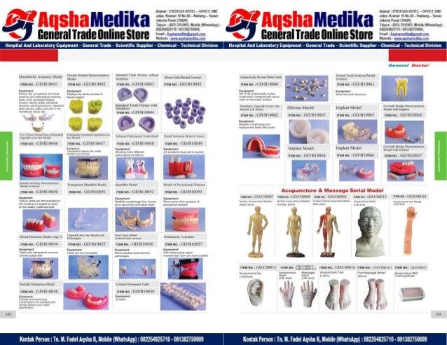 Phantom Alat Peraga Kesehatan General Doctor Product Catalog 2017-2018 – Hal.110