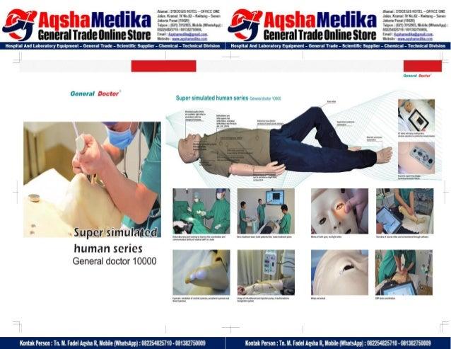 Phantom Alat Peraga Kesehatan General Doctor Product Catalog 2017-2018 – Hal.13