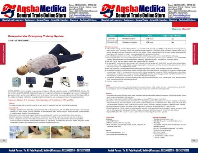 Phantom Alat Peraga Kesehatan General Doctor Product Catalog 2017-2018 – Hal.16