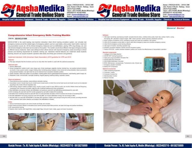 Phantom Alat Peraga Kesehatan General Doctor Product Catalog 2017-2018 – Hal.19