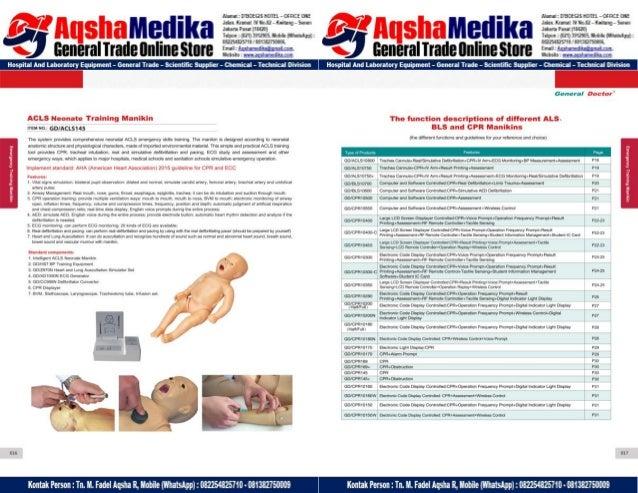 Phantom Alat Peraga Kesehatan General Doctor Product Catalog 2017-2018 – Hal.22